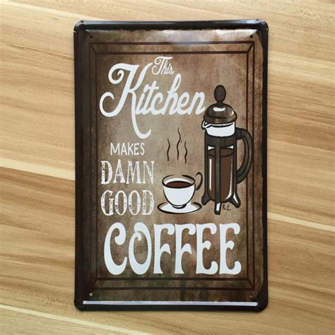 metal signs for home decor new 2015 about quot coffee quot poster vintage home decor