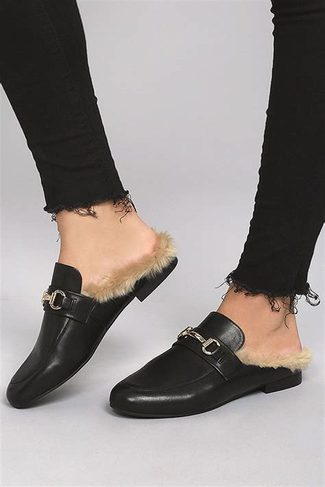 Faux Fur Loafers best 25 fur loafers ideas on gucci fur