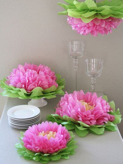 How To Make Hanging Tissue Paper Flowers - best 25 hanging paper flowers ideas only on