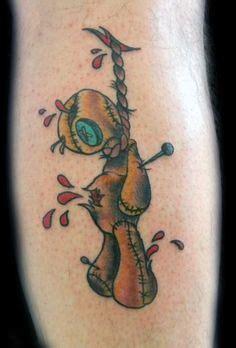 good voodoo tattoo voodoo doll tattoos voodoo doll