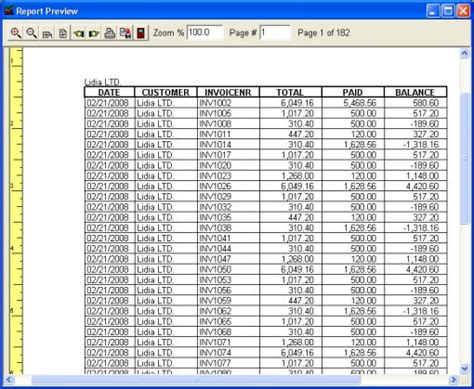 Payment Report Template Sales Orders Software Print Reports