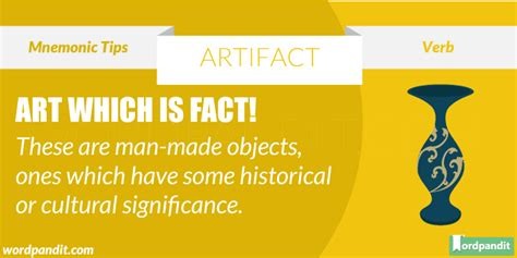 artifact meaning definition  artifact artifact