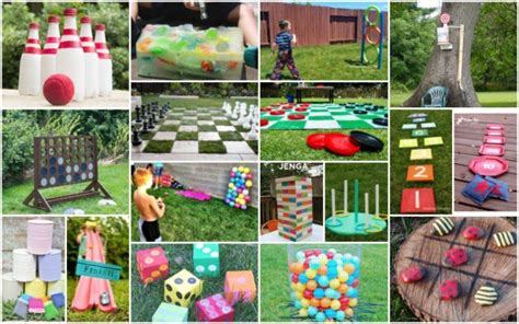 backyard fun games 20 fun diy outdoor games for kids how to instructions