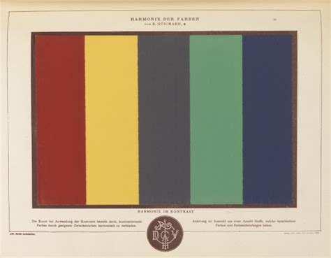 Harmonie Der Farben by Color Theory Graphic Design Theory