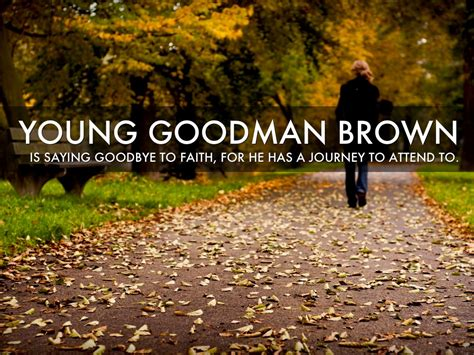 young goodman brown literary analysis summary quotes and theme