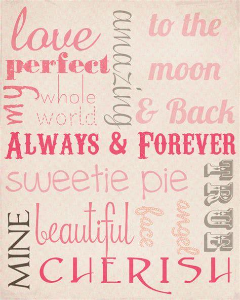 Free Printable Love Journal | sweetly scrapped free love subway art printable