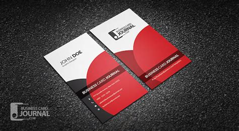 verticle business card template 20 amazing free creative business card templates