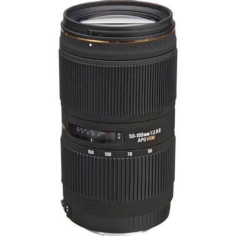 Sigmat 150mm sigma 50 150mm f 2 8 ii ex dc hsm lens 691 101 b h photo