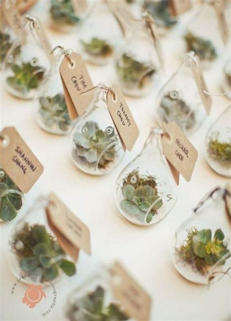 Small Candied Wedding Flower Decoration 11 fresh wedding favors for the eco chic wedding