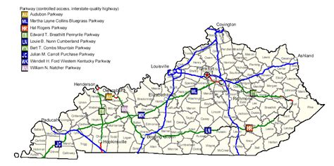 kentucky highway map with counties map of kentucky map highways worldofmaps net