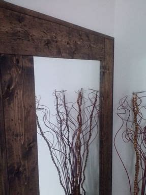 Hand Crafted Large Floor Mirror, Reclaimed Wood Mirror
