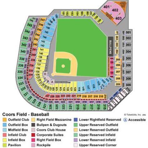coors field section map coors field seat map clubmotorseattle