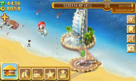 Gamis Silang paradise island android app review paradise