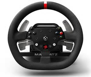 Steering Wheel Set For Xbox One Mad Catz Steering Wheel Xbox One Review Xbox One Racing