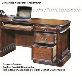 Napa Style Furniture by Vineyard Executive Office Home Office Desk Furniture Napa