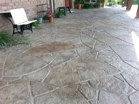 overlay concrete patio 27 best images about outdoor decorative concrete on