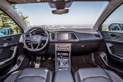 seat interni prova seat ateca 1 6 tdi advance live