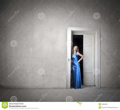 Waiting At Door by Waiting At The Door Royalty Free Stock Image Image 32883306