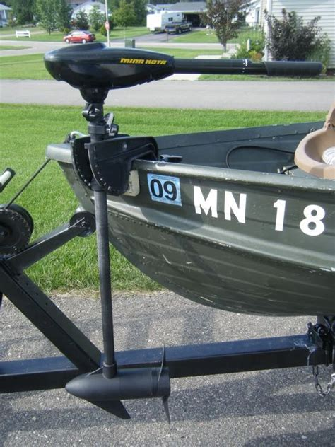 small boat trolling motor transom mount trolling motor converted to bow mount