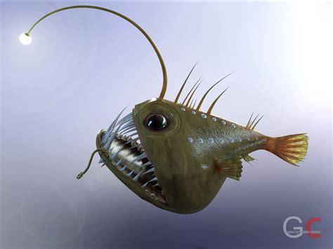 Aquarium Fish Model Cumi 13 Liter angler fish angus free 3d model stl sldprt sldasm slddrw ige igs iges cgtrader