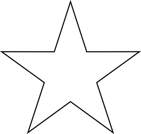 printable star outline best 25 star clipart ideas on pinterest stencil logo