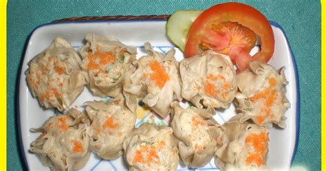 salmon frozen food siomay ikan