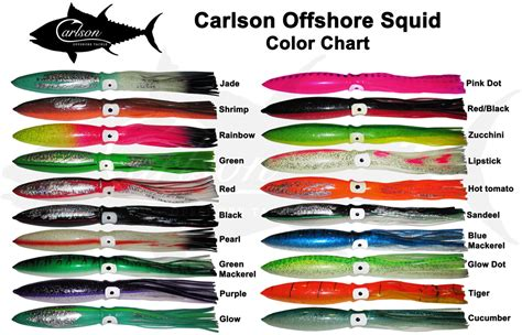 color squid carlson 18 quot squid chain