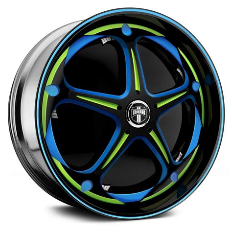 Handmade Wheels - dub 174 havok wheels custom painted rims