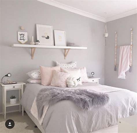 Rosa Grau Zimmer by Grey White Pink Room B E D R O O M Pink