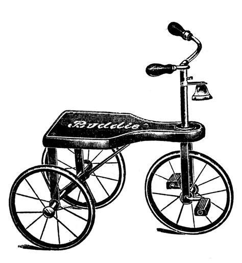 vintage clipart vintage clip art transportation toys scooter etc the