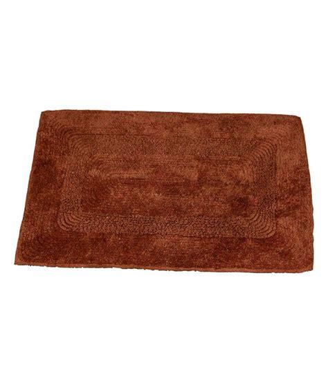 Plain Mats by Ritika Carpets Brown Plain Cotton Door Mat Buy Ritika