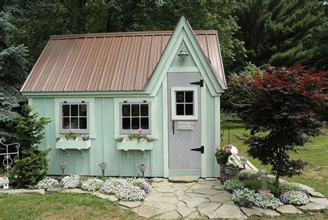 Cottage Shed Plans by 9 Whimsical Garden Shed Designs Storage Shed Plans