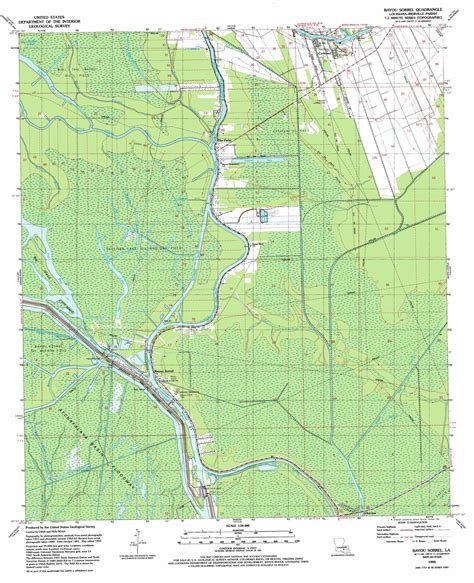 texas bayou map bayou sorrel topographic map la usgs topo 30091b3