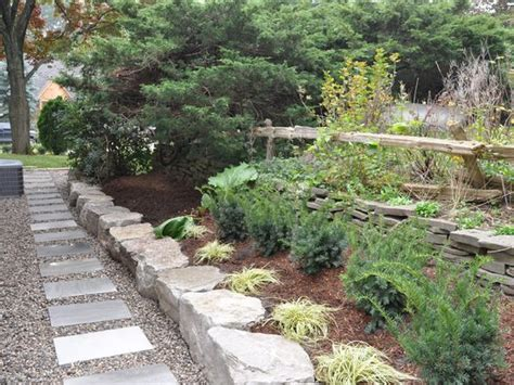 Square To Yards Of Gravel small back yard landscape designhard scape pathways square cut flagstones as stepping on