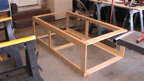 how to build a cabinet base frame cabinet construction part 5 cutting panel inserts and