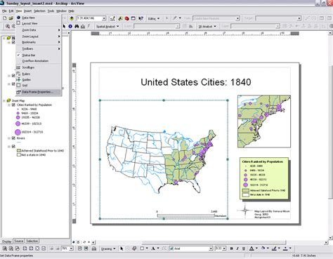arcgis lock layout elements arcmap instructions