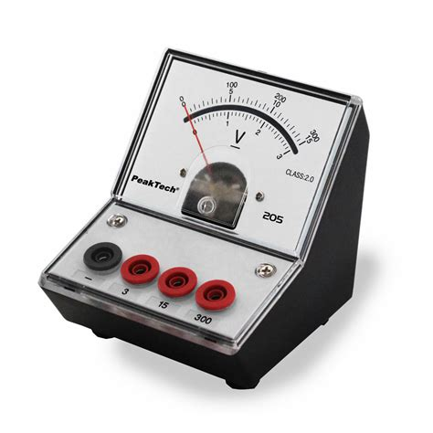 Voltmeter Ac Analog dc voltmeter 1002787 peaktech u11811 held