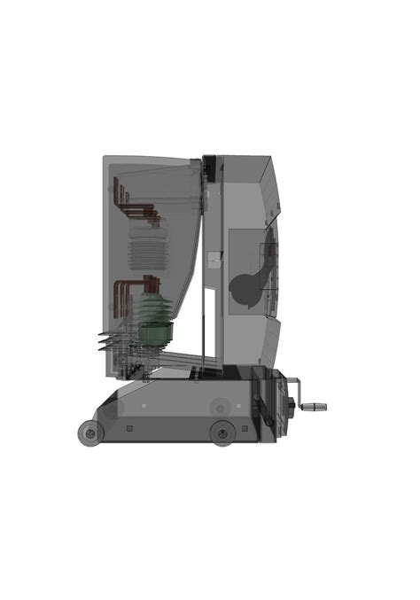 3d Models Schneider Electric circuit breaker schneider electric evolis 145 free 3d model dwg ige igs iges cgtrader