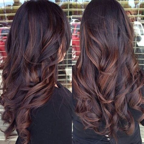brown curly hair with low lights astonishing hairstyles for brown hair with lowlights hair