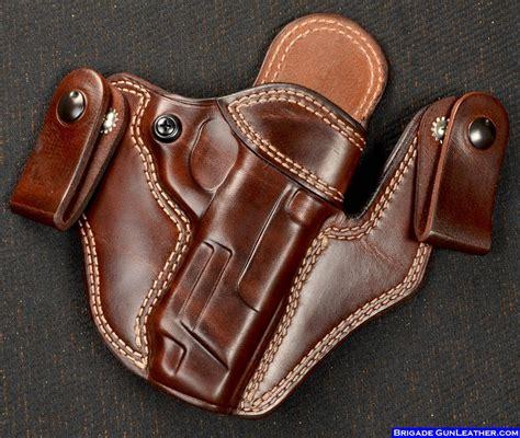 Leather Gun Holster | brigade custom holsters leather gun holsters concealed
