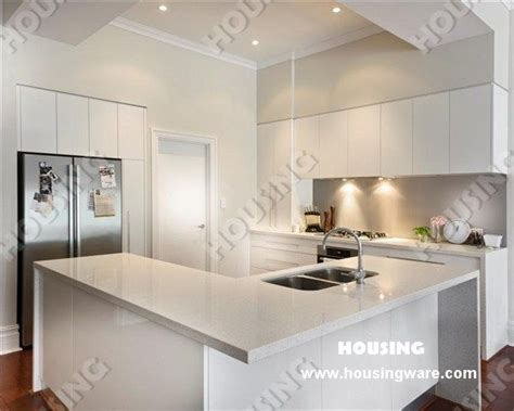 White High Gloss Kitchen Cabinets Design High Gloss White Lacquered Finish Mdf Kitchen Cabinets High Gloss Kitchen Cabinets