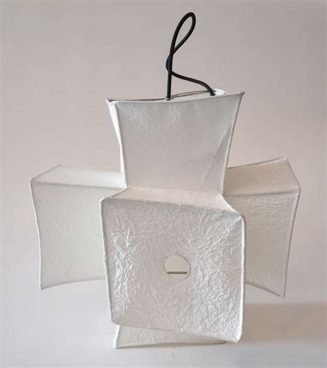 japanese paper lantern light fixtures light fixture and paper lantern by andrew stansell at 1stdibs