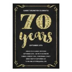 70th birthday card template 70th birthday invitations announcements zazzle