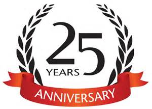 business anniversary logos about healey visual inc