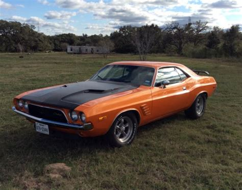 black and orange dodge challenger seller of classic cars 1973 dodge challenger orange black
