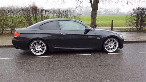 si鑒e auto sport black sale bmw 320 series coupe m sport auto black 2008