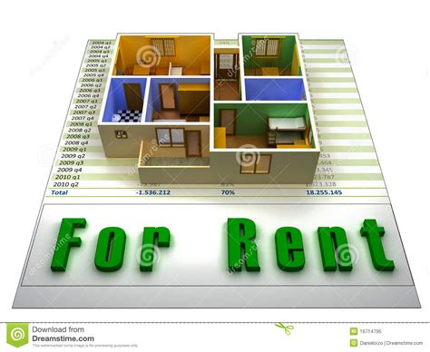 Apartments For Rent With No Credit Or Background Check Apartment For Rent Royalty Free Stock Photo Image 16714795