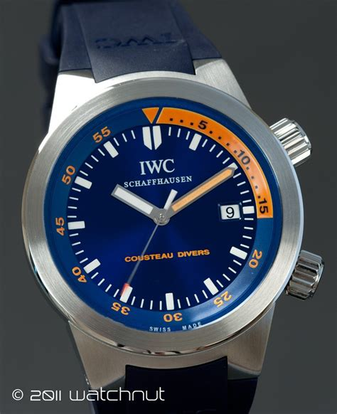 "FS: IWC Aquatimer ""Cousteau Divers""   Ref: 3548 06   Rolex Forums   Rolex Watch Forum"