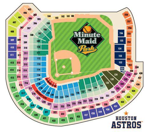 astros seating chart astros seating chart misc