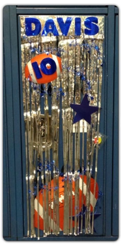 Football Locker Decorations by 1000 Ideas About Football Locker Decorations On